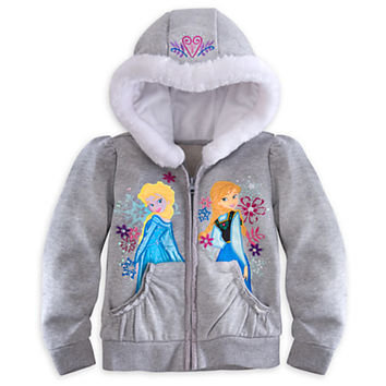 Disney Anna and Elsa Hoodie for Girls - Frozen | Disney Store