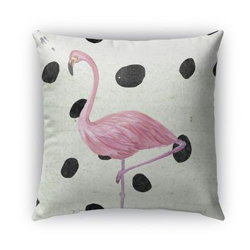 FLAMINGO Indoor|Outdoor Pillow By Rosa Vila