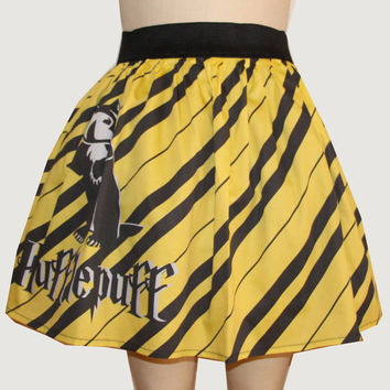 Hufflepuff Inspired Full Skirt