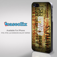 A Day To Remember Song for SMARTPHONE CASE