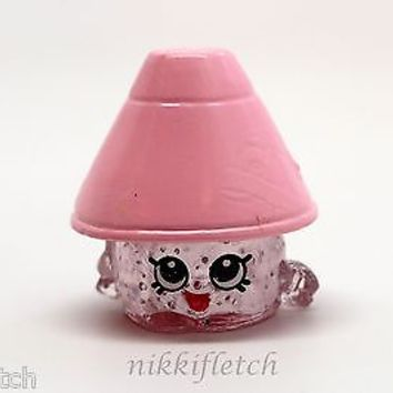 Shopkins Season 2 #2-024 Pink/Purple Lana Lamp ULTRA RARE Crystal Glitz Shopkin