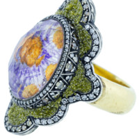 Carved Flower Ring | Marissa Collections