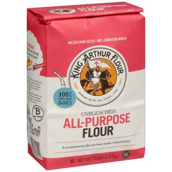 King Arthur Flour Unbleached All-Purpose Flour 5 lb. Bag - Walmart.com
