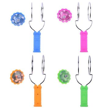Glitter Gyro Wheel Children Toys Glow in the Dark Magnetic Magic Spinning Top Glowing Laser Gyro Funny Kids Toys Christmas Gift