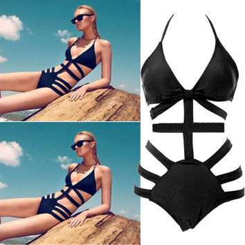 Latest Cheeky Bikini Suit Summer Sexy Bikinis Women Swimwear Bathing Suit Swimsuit Backless Women One-Piece Swimwear