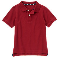 Uniform Pique Polo Shirt