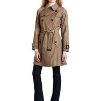 Jones New York Women`s Double Breasted Trench Coat $77.99 - $126.00