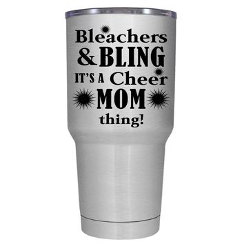 Bleachers & Bling 30 oz Tumbler Cup