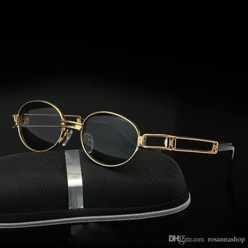 """""""Vintage Small Steampunk Goggles Oval"""""""
