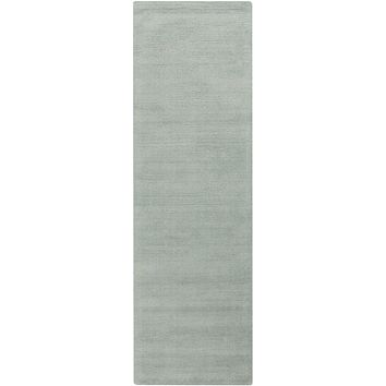 Surya Mystique M5328 Blue Solids and Borders Area Rug