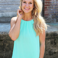 Summertime Sweetness Mint Tank