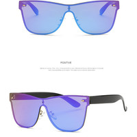 AEVOGUE Sunglasses Women Rimless Conjoined Spectacle Lens Brand Designer Summer Style Sun Glasses With Box UV400 03
