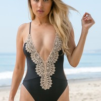 Blue Life - Eclipse One Piece | Black