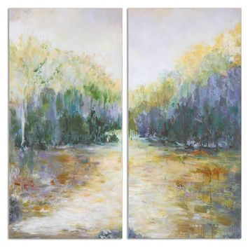 Summer View Landscape Art, Set 2 By Uttermost