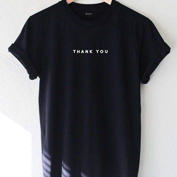 Thank You Tee - Black