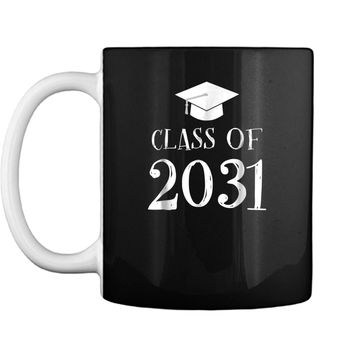 Class of 2031 Grow with me  - First Day of School  Mug
