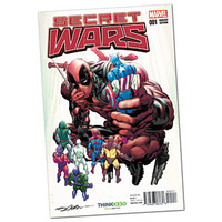 Secret Wars #1 Exclusive Adams Variant