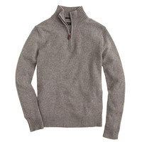 J.Crew Mens Slim Lambswool Half-Zip Sweater