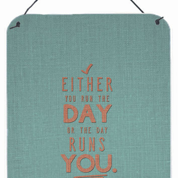 Run the Day Wall or Door Hanging Prints BB5453DS1216