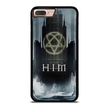 HIM BAND HEARTAGRAM iPhone 8 Plus Case Cover