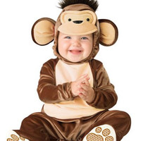 Baby-Toddler-Costume Mischievous Monkey Toddler Costume 12-18 Halloween Costume