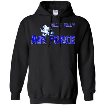 DILLY DILLY : AIR FORCE : G185 Gildan Pullover Hoodie 8 oz.