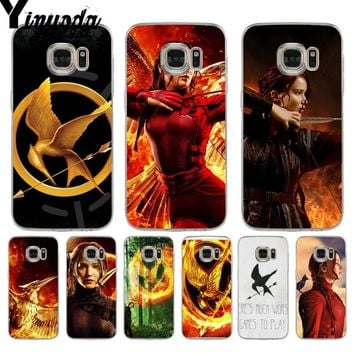Yinuoda The Hunger Games movie Drawing soft tpu phone Case for samsung galaxy s9 plus s7 edge s6 edge plus s5 s8 plus case