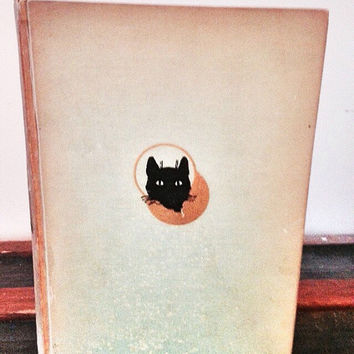 First Edition Vintage Book: From Alley Pond to Rockefeller Center by Henry Collins Brown / Black Cat Antique Decorative Book