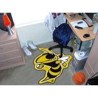 Georgia Tech Yellowjackets NCAA Cut-Out Floor Mat
