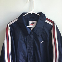 vintage 90s nike windbreaker jacket / XL
