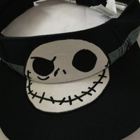 disney parks jack skellington visor hat for adult new with tags