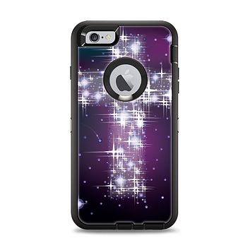 The Glowing Starry Cross Apple iPhone 6 Plus Otterbox Defender Case Skin Set