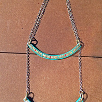 Single Bar Mantra Necklace