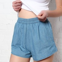Motel Boxer Chambray Short