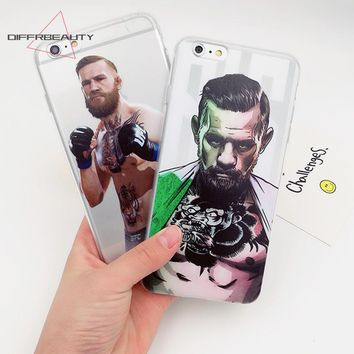Boxer Mayweather Cover Floyd Boxing Gloves Fighting Pattern DIFFRBEAUTY Back Cover Case For iPhone X 5s se 6s 7 8 plus Capa Para