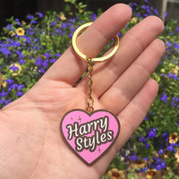 Harry Heart Keychain