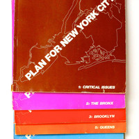 PLAN FOR NEW YORK CITY by The New York City Planning Commission