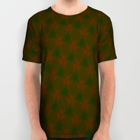 Misty Merry Trees All Over Print Shirt by Gwendalyn Abrams