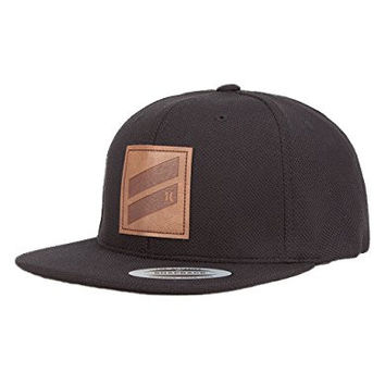 HURLEY Icon Slash Mens Strapback Hat, Black