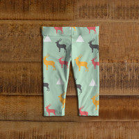 Deer Baby and  Toddler Leggings