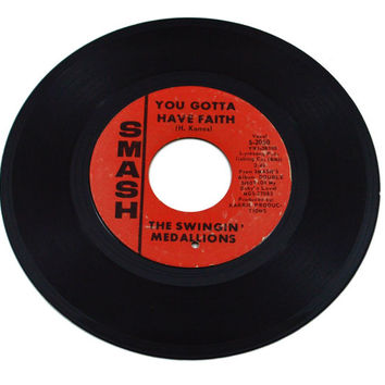 Vintage 60s The Swingin' Medallions She Drives Me Out of My Mind 45 RPM 7-inch Single Record