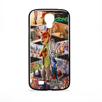 Zootopia Design Samsung Galaxy S4 Case