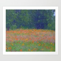 Colorful Floral Carpet Art Print by Lena Photo Art