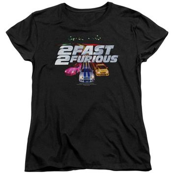 2 Fast 2 Furious - Logo Short Sleeve Women's Tee