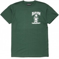 The Hundreds X Death Row Crest T-Shirt - Forest Green
