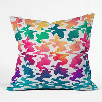 Elisabeth Fredriksson Summer Splash Throw Pillow