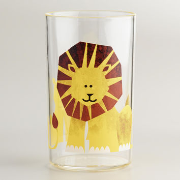Acrylic Lion Tumbler, Set of 4 - World Market