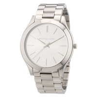 Michael Kors MK3178 Womens Runway Silver Dial Stainless Steel Watch