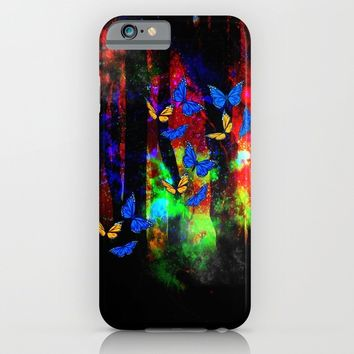butterfly forest iPhone & iPod Case by Haroulita
