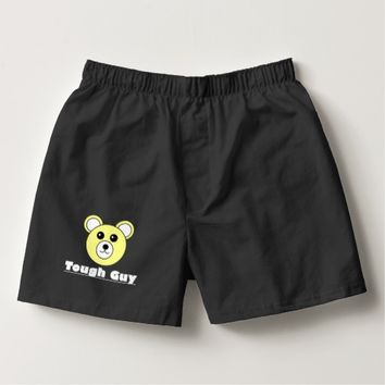 Funky Tough Guy Bear Face Underwear Boxers